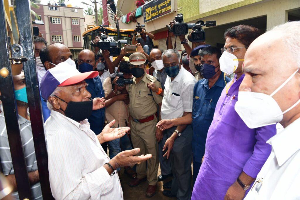 CM visit to Hosakerehalli4
