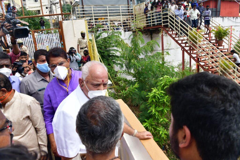 CM visit to Hosakerehalli5