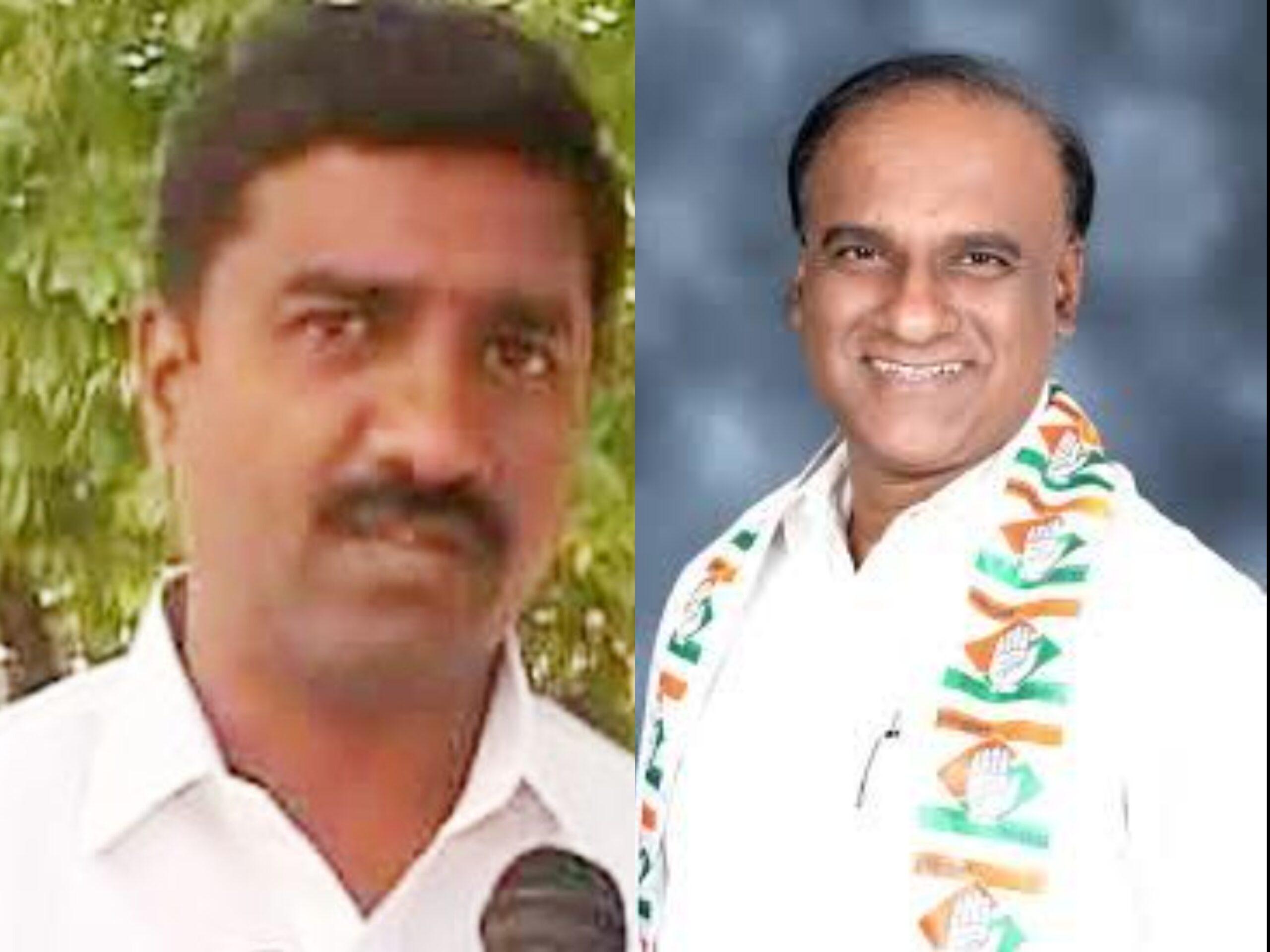 Corporator M Shivaraj and Abdul Wajid scaled