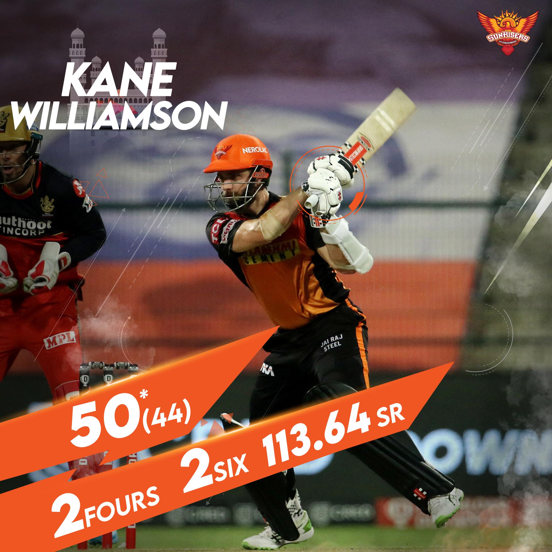 SRH Kane williamson
