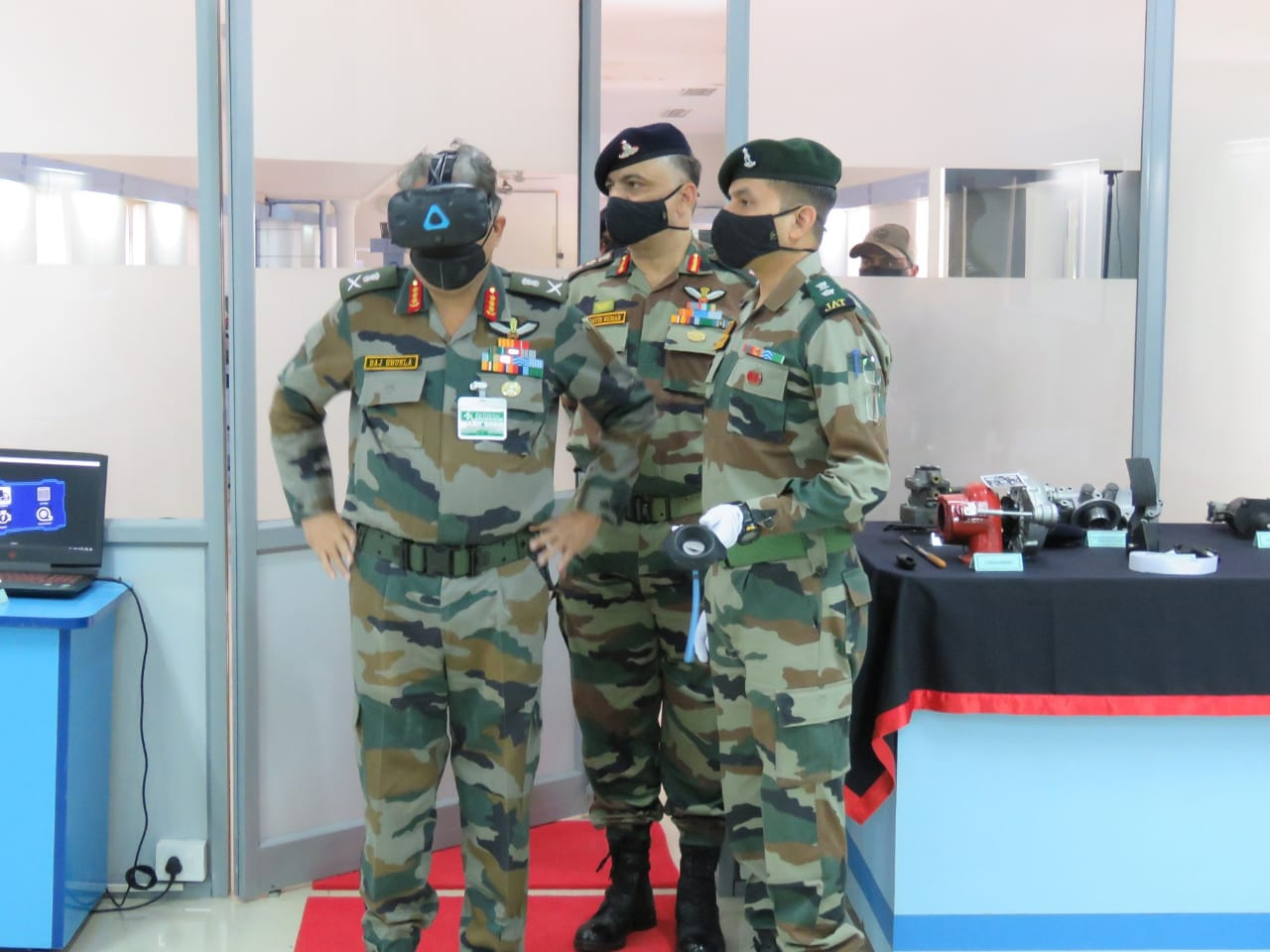 Army Training Command Chief visits ASC Centre and College