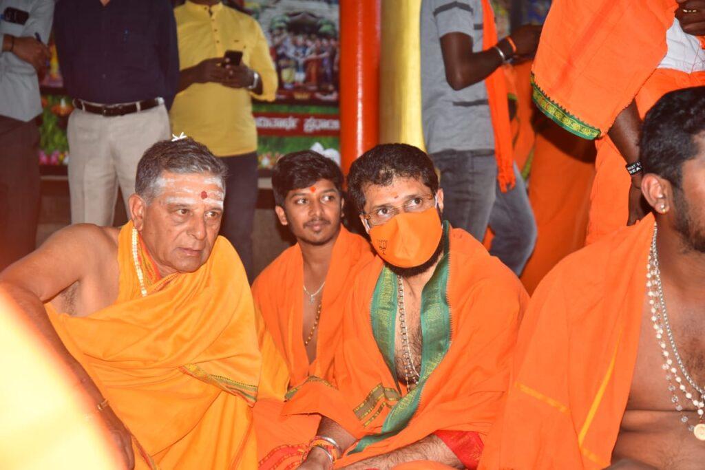 CT Ravi Datta festival Mala1