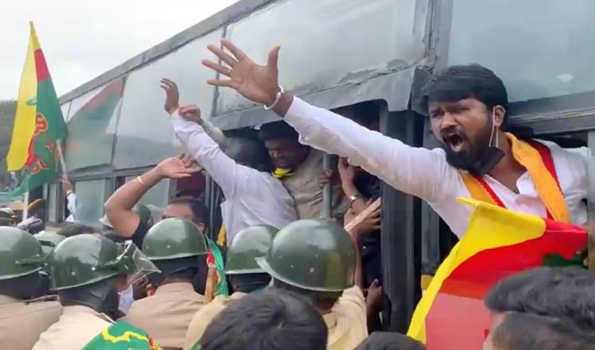 bandh activist arrest