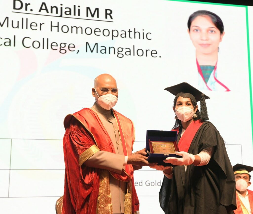 23rd annual convocation of the Rajiv Gandhi University of Health Sciences2