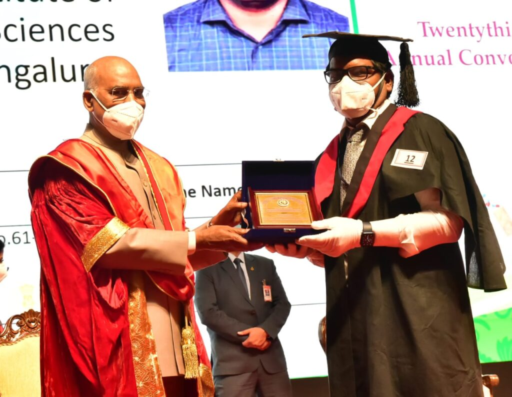 23rd annual convocation of the Rajiv Gandhi University of Health Sciences3