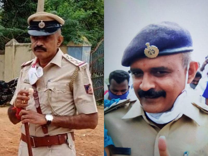 Chikkaballapur blast two suspended cops