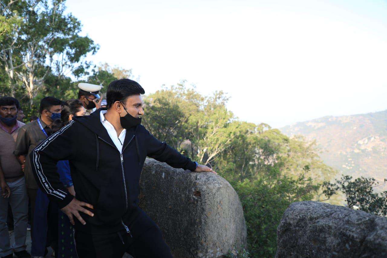 Sudhakar visit to Nandi Hills