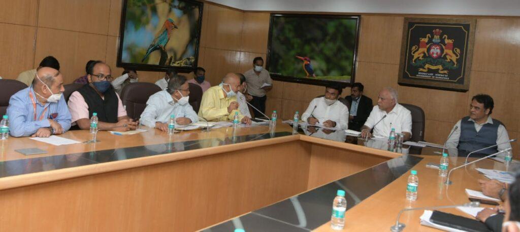 CM covid task force meeting