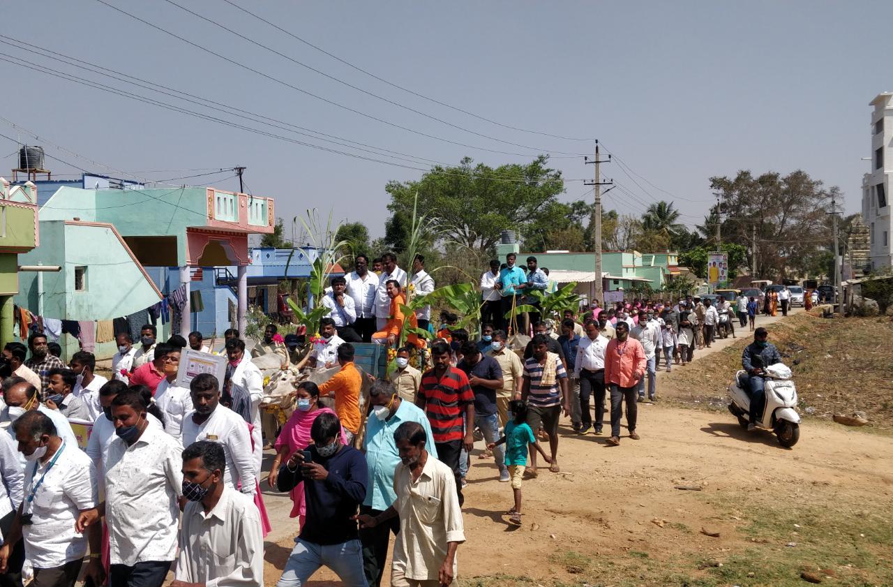 Preference for allotment of land for public use J Manjunath1