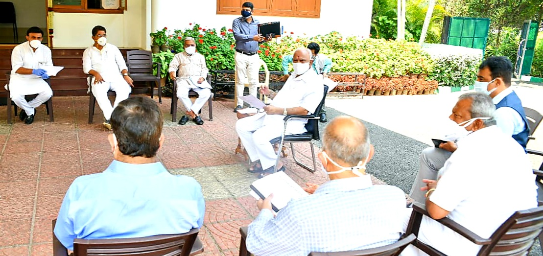 CM covid review meeting