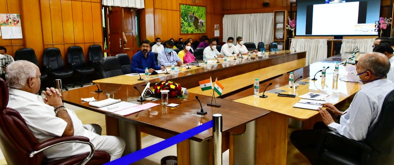 CM meeting with Transport department officails