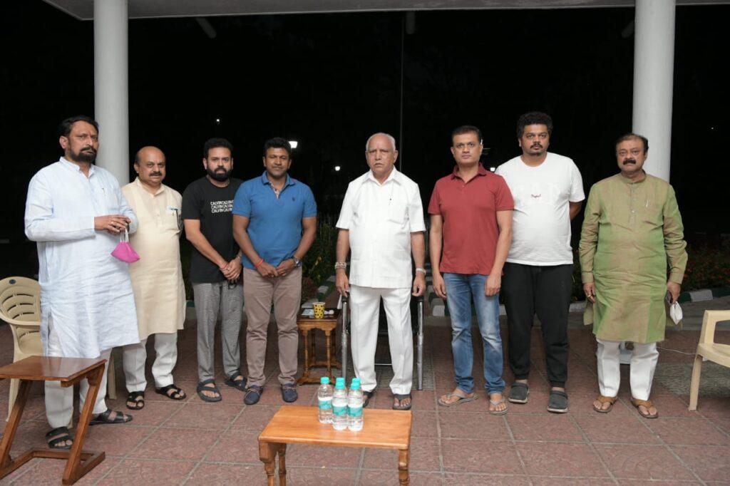 Chief Minister BS Yediyurappa allows 100 seating capacity for Yuvarathnaa till April 7
