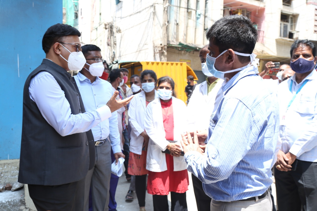 Dharmaraswamy temple ward 39 persons infected with Covid 19 positive