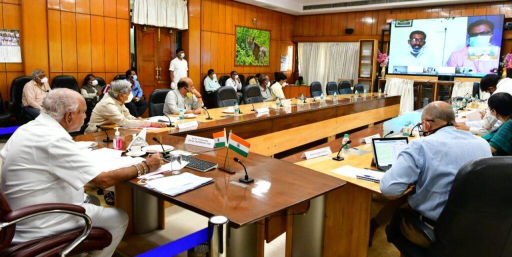 Karnataka Chief Minister announces Rural Development Department Staff as Corona Warriors