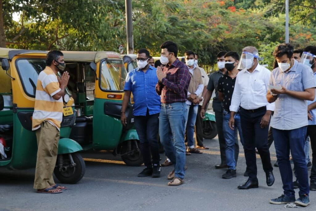 Tejasvi Surya launches MP Oxy Bank3