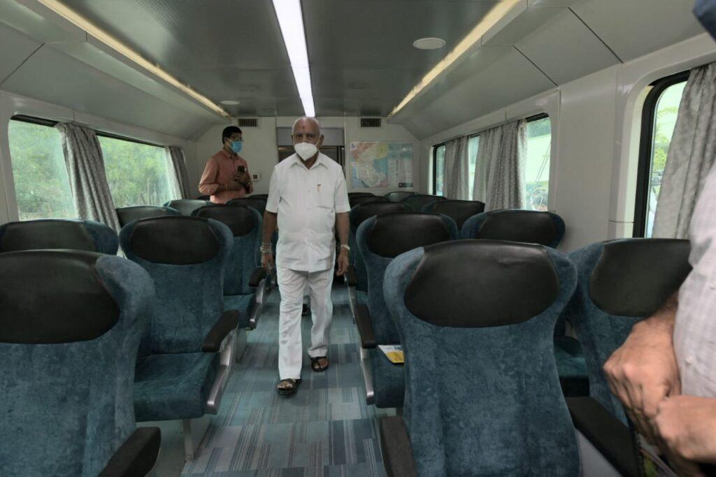 Karnataka CM inspects Sub Urban rail project in Bengaluru Copy