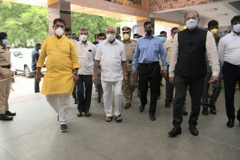 Karnataka CM inspects Sub Urban rail project in Bengaluru1 Copy