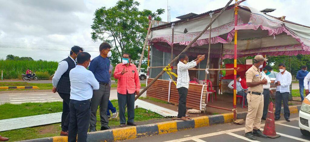 RTPCR Negative report mandatory for passengers arriving Belagavi from Maharashtra2