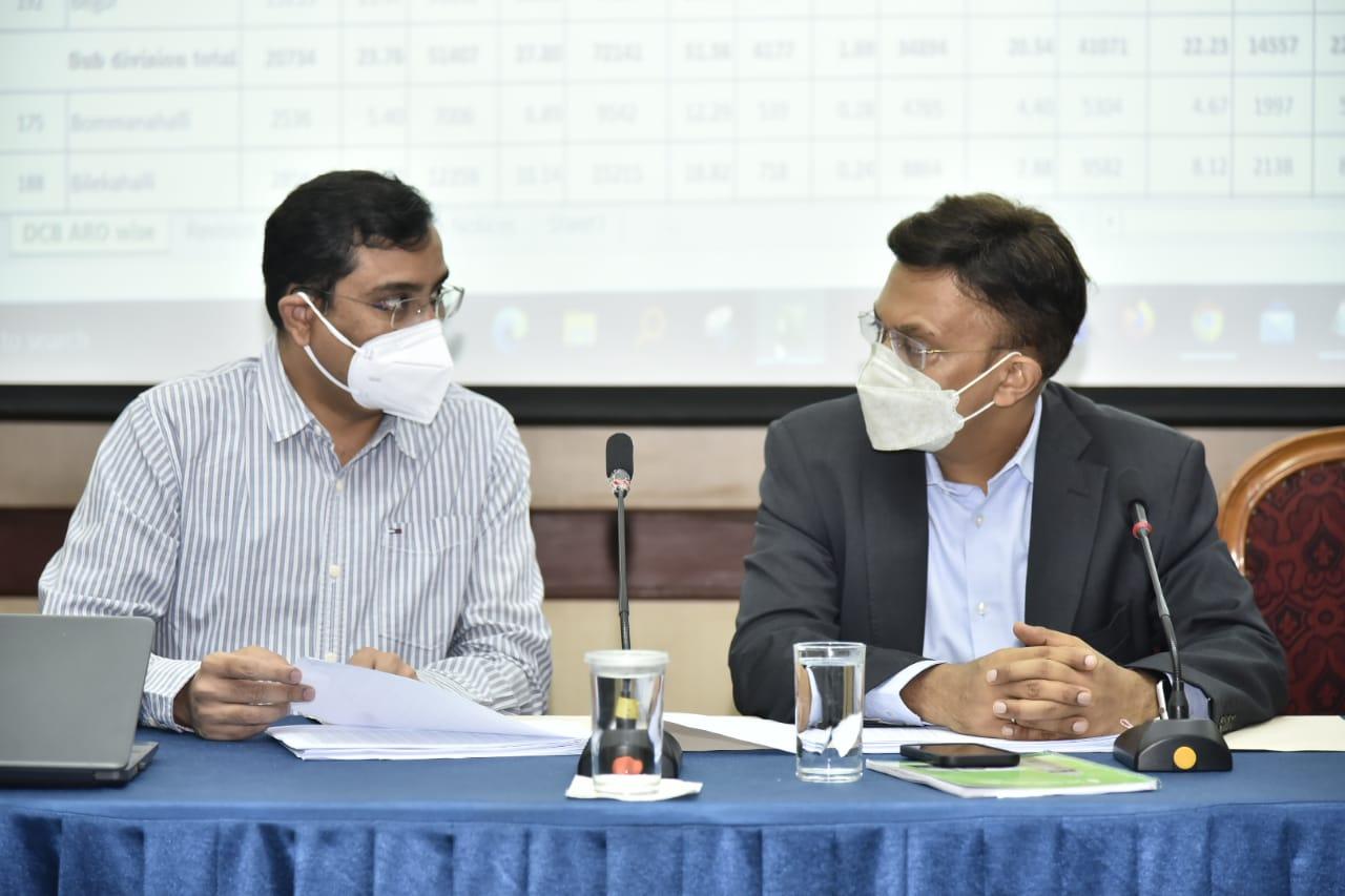 IAS Gupta with IAS Basavraju