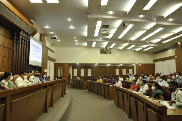 Industries should be developed in other districts too Karnataka Minister CC Patil