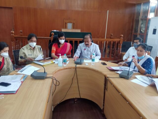 Mandya district administration decides to completely stop stone mining around Kannambadi Dam Minister Narayana Gowda