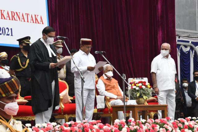 Thaawarchand Gehlot takes oath as 19th Governor of Karnataka