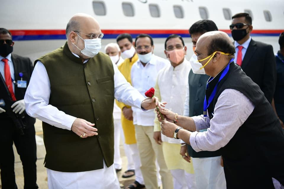 bommai with amit shah