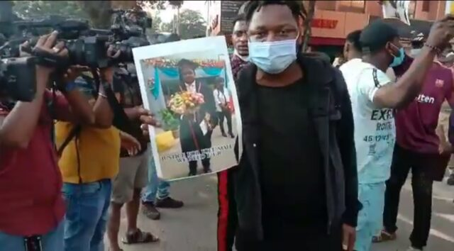 African citizen death: Angry fellow citizens attacks on Bengaluru Police