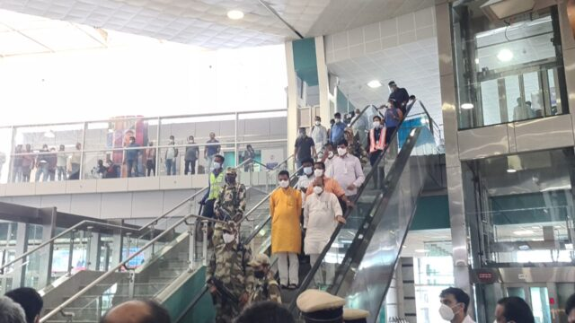 Karnataka Chief Minister on Mangalore tour